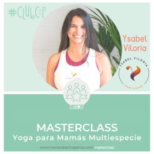 yoga para mamás multiespecie