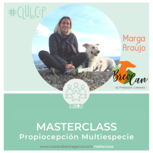 masterclass propiocepción canina con niños