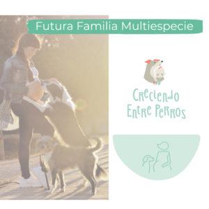 curso futura familia multiespecie emabarazada y con perro