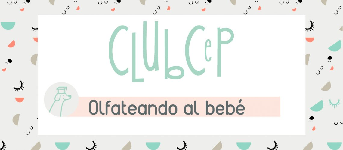 club Sep olfateando al bebé